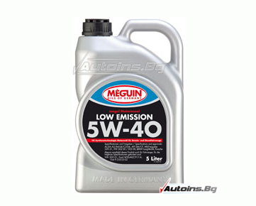 Meguin Low Emission SAE 5W-40 - 5 литра